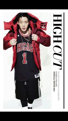 The rapper of IKON BOBBY on HIGH CUT