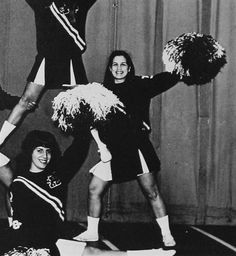 Michele Bachmann, 1974, as a cheerleader at Anoka Senior High in Anoka, Minn.