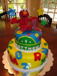 elmo birthday cake - Google Search
