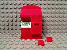 LEGO-MOVIE-RENTAL-KIOSK-MACHINE-Touch-Screen-Blu-Ray-DVD-Video-Game-Store-Redbox