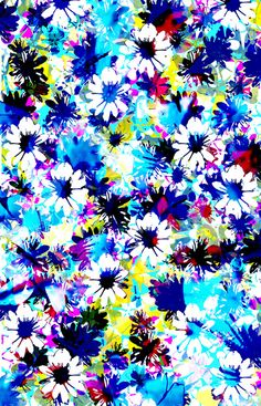 Floral 2 Stretched Canvas