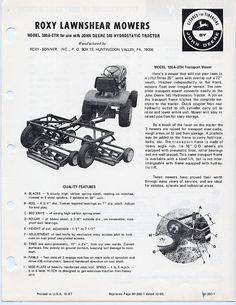 John Deere 655-755-855 Compact Diesel Tractor Brochure