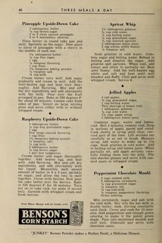 Old Recipes, Vintage Recipes, Cookbook Recipes, Cooking Recipes, Sweet Recipes, Woolworth Cheesecake Recipe, Cheesecake Recipes, Dessert Recipes, Desert Recipes