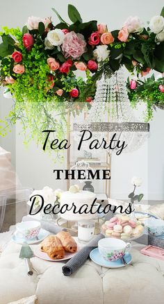 This Eid (Eid ul Adha) we decided to use pink, white and faux flowers to create these tea party decorations. Tea Party Theme, Party Themes, Theme Ideas, Party Ideas, Eid Party, Flower Chandelier, Creative Activities For Kids, Tea Party Decorations, Decoration Inspiration