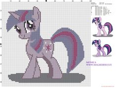 Twilight (My Little Pony) cross stitch pattern (click to view)