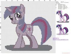 Twilight (My Little Pony) cross stitch pattern (click to view)