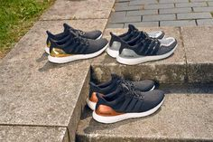 """A Fresh Look at the adidas """"Olympic Medals"""" Ultra Boost Pack - EU Kicks: Sneaker Magazine"""
