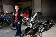 Exploring ways to make riding a motorcycle safer using connected driving data