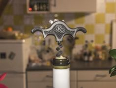 This 3d printed wine opener is working perfectly.