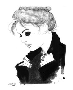 Watercolor Fashion Illustration  Get Your by JessicaIllustration, $25.00