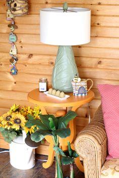 Home Decor — The Sun Room #DIY #decorate #patio