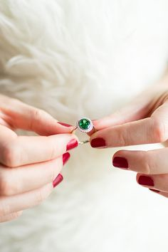 http://rubies.work/0982-ruby-pin-brooch/ James Allen emerald engagement ring with diamond halo.