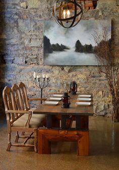 INDUSTRIAL Farmhouse Rustic Heart Pine por IndustrialFarmHouse