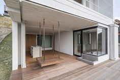 Osaka studio Design designed this weekend retreat in western Japan to accommodate activities that are usually impossible in a city house Minimalist Architecture, Japanese Architecture, Beautiful Architecture, Interior Architecture, Interior Design, Osaka, Weekender, Weekend House, House 2