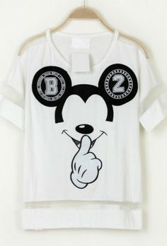 shirt mickey black white mickey mouse t-shirt mickeymouse spring fashion b&w w&b t-shirts women t shirts top summer top mesh mesh top mesh panel mesh t shirt white mesh mickey hands gangster mickey dope dope as f*** dope shit too dope dope ish dope af Dope l.a. l.a. style l.a new york new york city new york fucking city itsit boutique, instagram,, itsit clothing instagram instagramfashion instagram fashion style fashion cotton