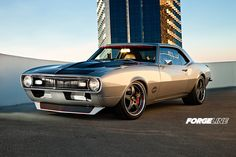 """Legendary in the pro-touring community, Larry Callahan's famous """"MotiV8r"""" 1968 Camaro. #OUSCI competitor"""