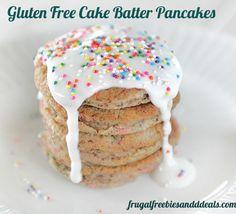 Gluten Free Cake Batter Pancakes (dairy and grain free)  http://www.frugalfreebiesanddeals.com/gluten-free-cake-batter-pancakes-dairy-and-grain-free/