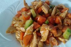Diabetic Recipes, Healthy Recipes, Healthy Food, Bao, Kung Pao Chicken, Chinese Food, Pork, Food And Drink, Ethnic Recipes