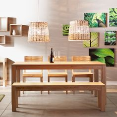 Oakland lavice do jídelny / dining room Dining Room, Dining Table, Creative Storage, Diy Wall Art, Home Kitchens, Sweet Home, Furniture, Home Decor, Decoration Home