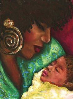 Natural Hair Art by Alga Washington. African American Artwork, African Artwork, Black Love Art, My Black Is Beautiful, Caricatures, Natural Hair Art, Black Artwork, Afro Art, Beauty Art