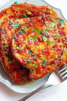 Fruity Pebbles French Toast Recipe | Grandbaby Cakes