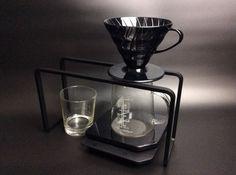 Stahl Gießen über stehen für Filterkaffee und Aeropress (schwarzer…