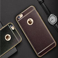 Luxury Tpu soft leather feel desidn Case cover For iPhone 7 / 7 Plus phone skin Coque Fundas for iPhone 6 6s plus cases shell #clothing,#shoes,#jewelry,#women,#men,#hats,#watches,#belts,#fashion,#style