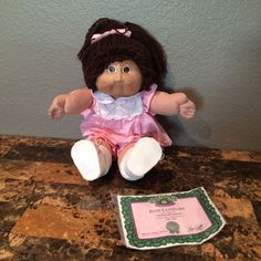 Vintage Cabbage Patch Kids Doll by XAVIER ROBERTS 1978,1982 w/ Papers
