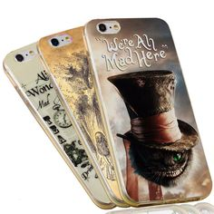 Find More Phone Bags & Cases Information about Alice in Wonderland Cheshire Cat Lessons Clear Soft TPU Slim Silicon Phone Case For iPhone 7 6 6S Plus 4 4S 5C 5 SE 5S Cover,High Quality phone cases for lg cookie,China case for sd card Suppliers, Cheap case for mobile phone from Unique Custom Gift (HK) Co., Ltd. on Aliexpress.com