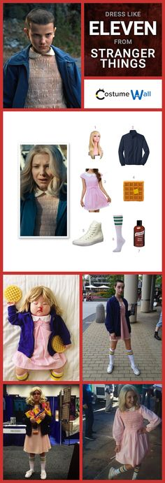 Dress like Eleven from Stranger Things this Halloween. Here's a guide of how you can pull off her costume.