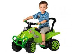 Quadriciclo Infantil a Pedal Cross com Buzina - Calesita