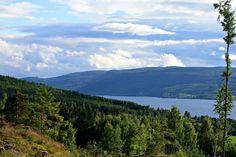 View Over Randsfjorden, Norway