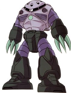 The MSM-07 Z'Gok (ズゴック Zugokku) is a mass production amphibious mobile suit. It was first featured in the anime series Mobile Suit Gundam, and later appeared in the OVA series Mobile Suit Gundam Unicorn.