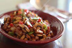 Barefeet In The Kitchen: Crispy Onion, Red Potato, Pepper and Mushroom Hash