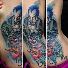 21 Tattoos All Disney Fans Will Fall Absolutely In Love With. I would never get this but I love it!