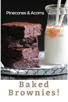"Do you like brownies? Than look no further than this recipe for Oprah's ""favorite"" brownie from the Baked Bakery NY! This recipe makes a moist, fudgy, delicious brownie. #brownie #brownierecipe #barcookie #oprahsfavoritebrownie #bakedbakery #bakebrownies #chocolate"