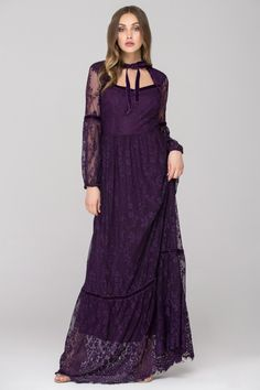 Lady Violet Lace Maxi Dress - (Price: $209.00)      #fashionstyle #fashionweek #fashionable #stores #style  #shopping #dressesonline #dress #womens #womenstyle #suits