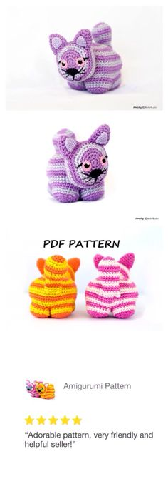 Amichy's most reviewed pattern - Pat the cat. 5-stars all the way :)