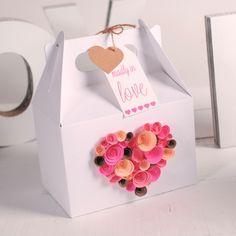 cajas de carton decoradas para san valentin - Buscar con Google