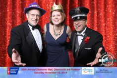 Photo Booth for American Cancer Society 35th Annual Diamond Ball at Crystal Plaza Livingston NJ