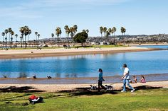 The changing sights along the Mission Bay Loop break up the monotony of a long run or leisurely stroll. #GetOutsideSD