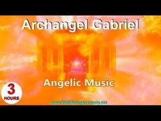 05 - Angelic Music - Archangel Gabriel - YouTube Reiki Music, Meditation Music, Angels In Heaven, Heavenly Angels, Calming Sounds, Archangel Raphael, Nature Music, Spiritual Power, Divine Light