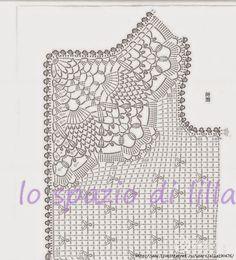 lo spazio di lilla: A gentile richiesta... Gli schemi per un coprispalle crochet da bimba / Girly crochet shrugs and boleros patterns