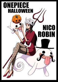 Hallowen - Robin - Online One Piece