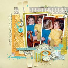 via saturn_art on flickr. Lil Kiss (using Amy Tangerine and CHAP) by Michelle Clement.