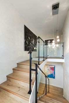 A determination to succeed has driven the creative conversion of this spectacular residence, a stunning new home that not… Townhouse, Beautiful Homes, Stairs, Bedroom, Street, Home Decor, House Of Beauty, Stairway, Decoration Home