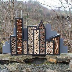11 inspirations pour les hôtels d'insectes Décoration Jardin Art