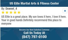 US Elite is a great place. My son loves it here, I love it here. Your in good hands ...