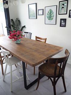 Et hop, une toute nouvelle vieille table !