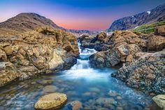 Tablelands Waterfall at Dawn by gord_follett. Please Like http://fb.me/go4photos and Follow @go4fotos Thank You. :-)